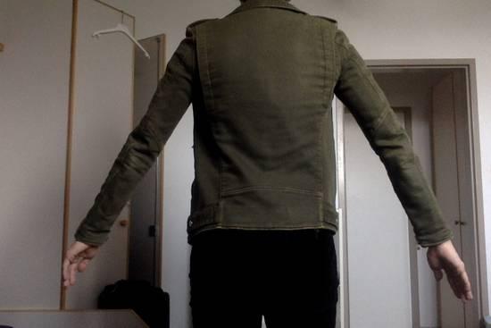 Balmain Balmain Green Cotton Twill Size US S / EU 44-46 / 1 - 6