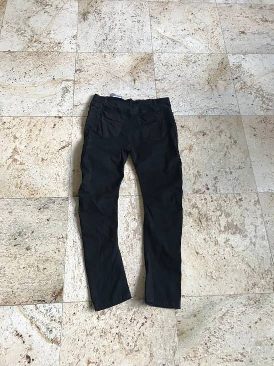 Julius 2-3-4 / 577PAM13 Knee Slit Distressed 11.5 Oz Denim In Black Size US 34 / EU 50 - 14