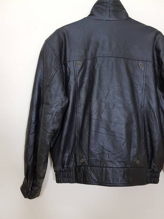 Balmain Authentic Pierre Balmain Riding Bomber Leather Jacket Size US L / EU 52-54 / 3 - 20