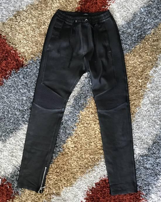 Balmain Leather Bikers Size US 32 / EU 48 - 1