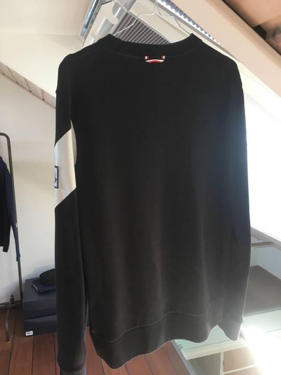 Thom Browne Moncler gamme bleu chevron sweatshirt Size US L / EU 52-54 / 3 - 3