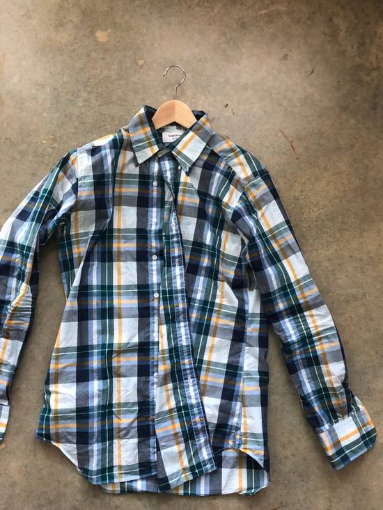 Thom Browne Plaid Shirt Size US M / EU 48-50 / 2