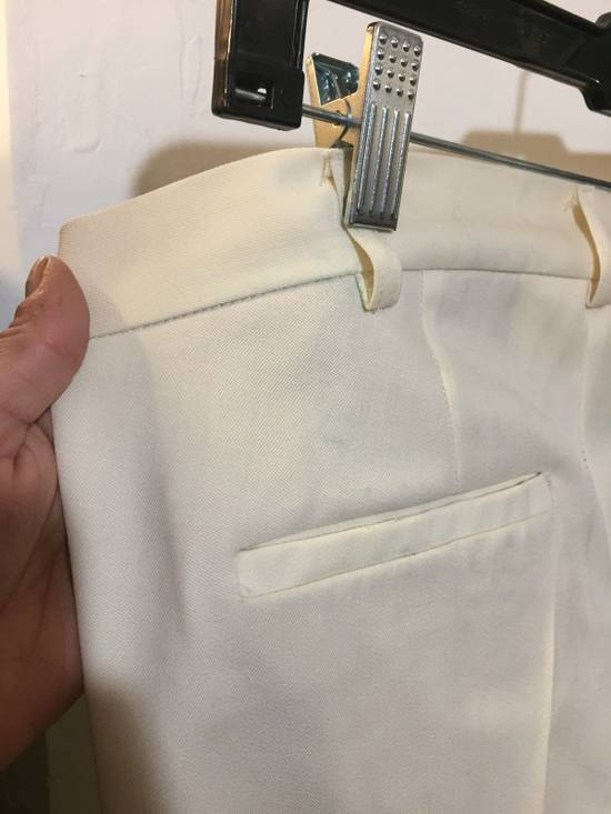 Balmain Balmain Off White Tuxedo Trouser Size US 36 / EU 52 - 2