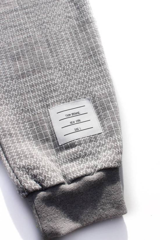 Thom Browne Houndstooth Sweatpants in Grey Size US 30 / EU 46 - 2