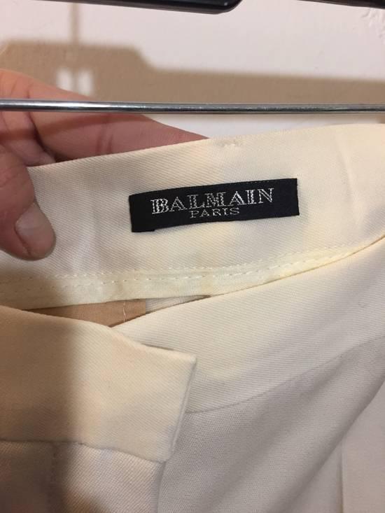 Balmain Balmain Off White Tuxedo Trouser Size US 36 / EU 52 - 4