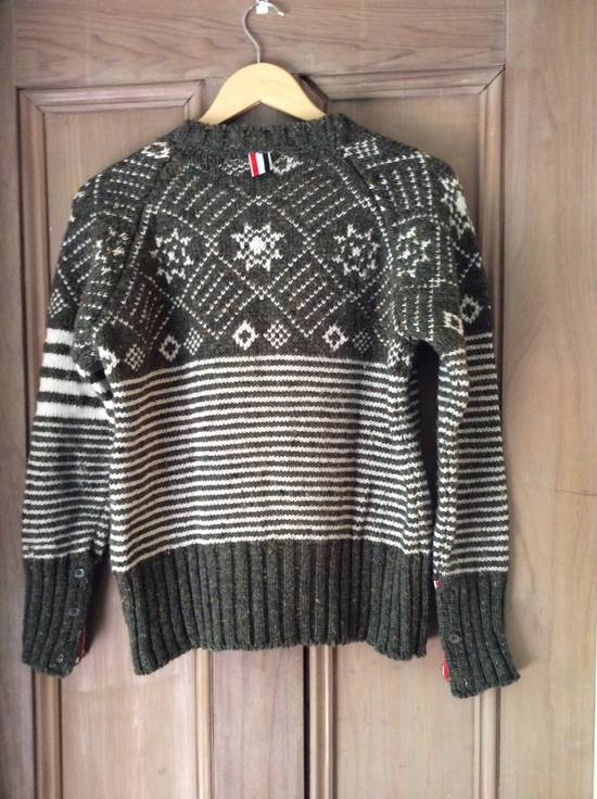 Thom Browne Ireland - fair isle 4 bar Size US S / EU 44-46 / 1 - 1