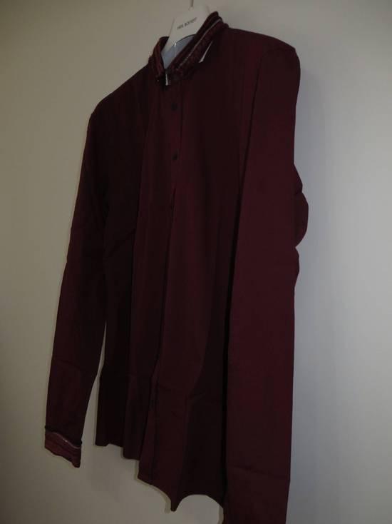 Balmain Embroidered plastron shirt Size US L / EU 52-54 / 3 - 11