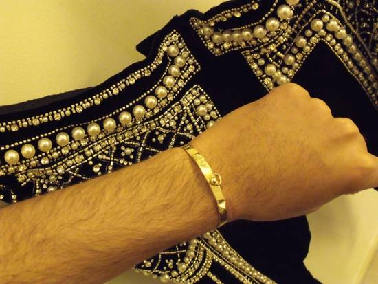 Balmain Balmain Fall 2012 Swarovski Crystal Fabergé Trouser Size US 32 / EU 48 - 19