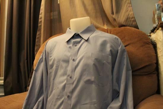 Givenchy Givenchy Monsieur Crisp Blue Dress Shirt Size US L / EU 52-54 / 3 - 3