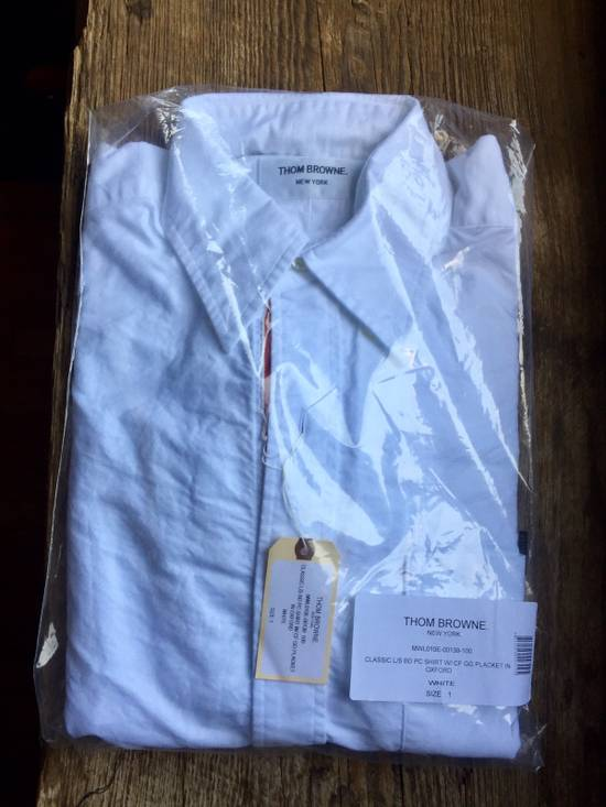 Thom Browne *Brand New* Button Up Grosgrain Placket Oxford Shirt Size US S / EU 44-46 / 1 - 2