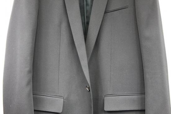 Balmain $2500 Balmain Slim Black One Button Wool Blazer Jacket Blouson Sz 50 48 M Medium Size 40R - 1