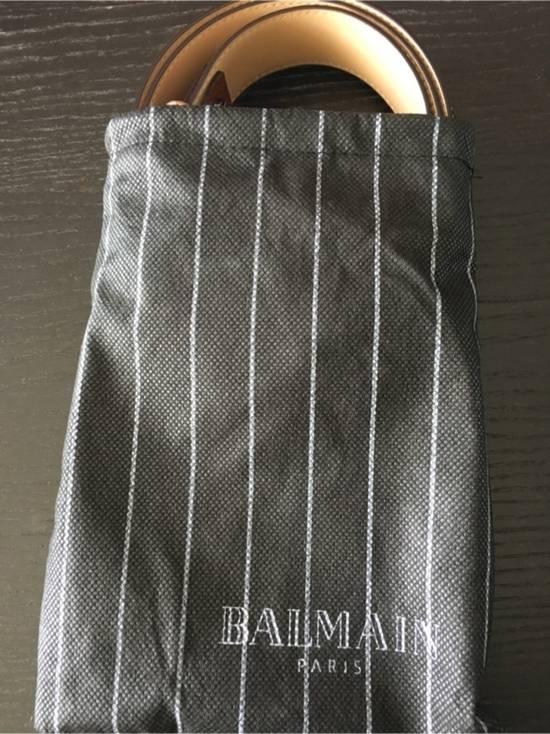 Balmain Balmain Size 34 Leather Belt Size 34 - 3
