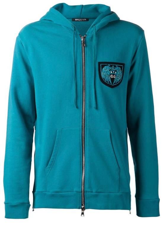Balmain Balmain Turquoise Hoodie VERY RARE Size US S / EU 44-46 / 1