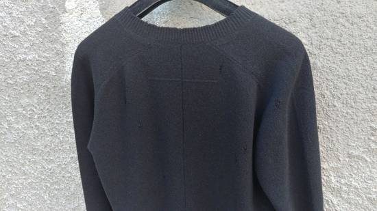 Givenchy Givenchy Destroyed Distressed Wool Slim Fit Rottweiler Knit Sweater Jumper size L (fitted M) Size US M / EU 48-50 / 2 - 10