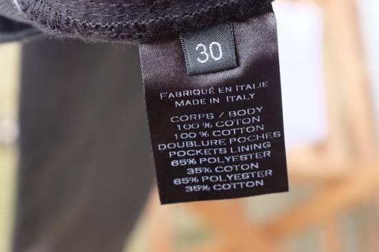 Balmain Black Waxed Biker Jeans Size US 30 / EU 46 - 9