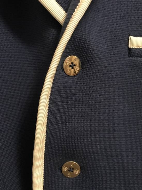 Thom Browne Bright Blue Knit Blazer Size 44R - 9
