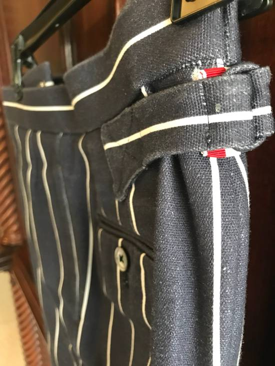 Thom Browne Thom Browne SS13 Navy Canvas Shorts Suit With Anchors (size 0 Blazer, Size 1 Shorts) Size 34S - 2
