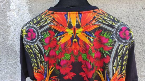 Givenchy $780 Givenchy Birds of Paradise Iris Floral Rottweiler Oversized T-shirt size XS Size US M / EU 48-50 / 2 - 8