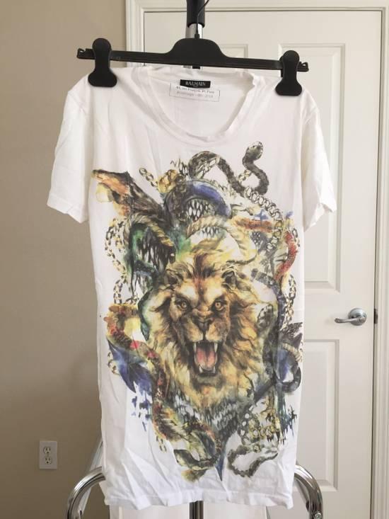 Balmain Lion T-shirt Size US XS / EU 42 / 0