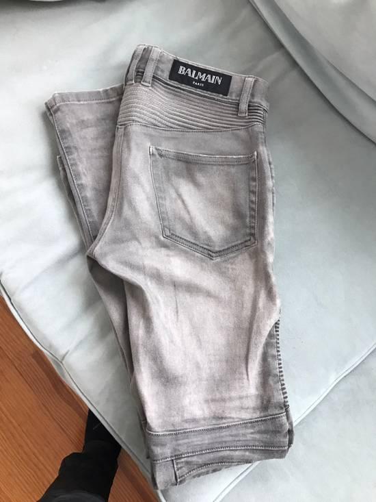 Balmain Balmain Distressed Biker Jeans Size US 28 / EU 44 - 1