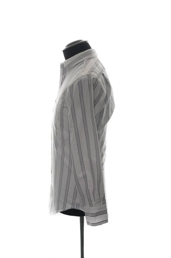 Thom Browne Thom Browne Brown Striped Shirt Size US XS / EU 42 / 0 - 2