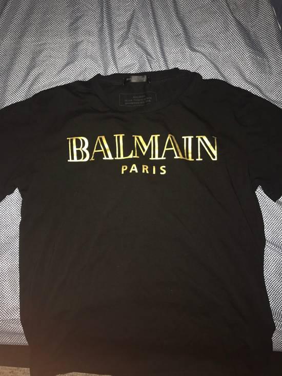 Balmain Balmain Logo Tshirt Size US M / EU 48-50 / 2
