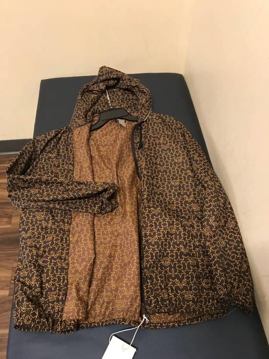 Givenchy Brown Star & Logo Contrast Zipper Size US L / EU 52-54 / 3