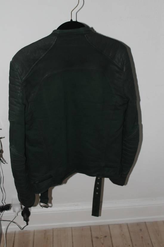 Balmain Forrest Green Biker Jacket sz S Size US S / EU 44-46 / 1 - 4