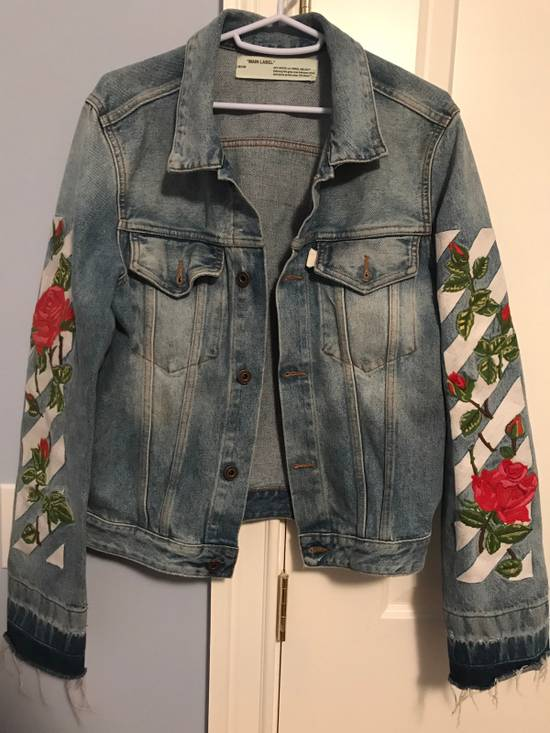 226c782f39ad Off-white Rose Denim Jacket