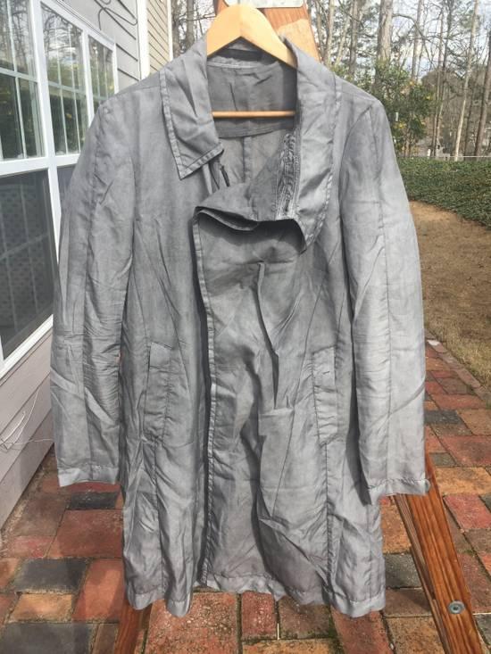 Julius SS14 Silk/Nylon Dusty Grey Coat Size US M / EU 48-50 / 2 - 4