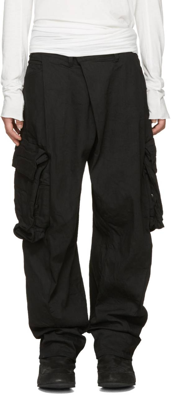 Julius NO MORE DROP, Black Gas Mask Cargo Pants SIZE 3 Size US 33 - 2