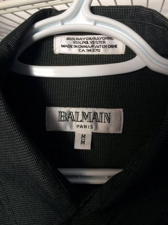 Balmain Vintage Grey Balmain Button Up Shirt Size US M / EU 48-50 / 2 - 1