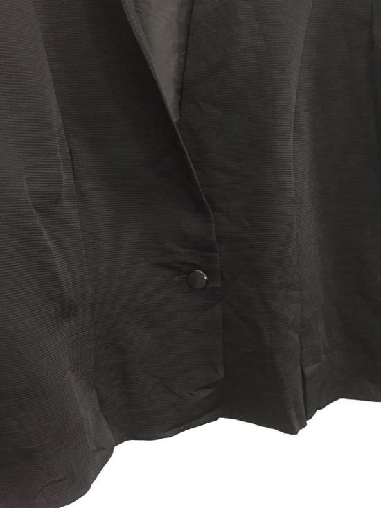 Givenchy Black Pleated Light Button Jacket Size US S / EU 44-46 / 1 - 2