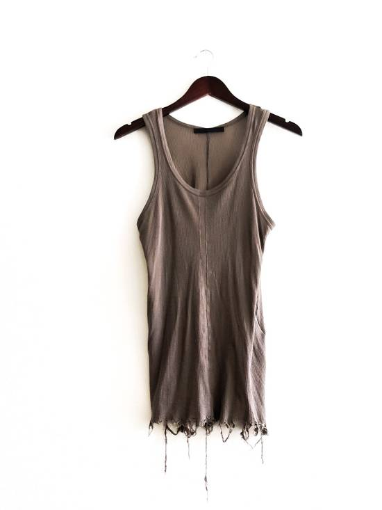 Julius LAST DROP-DELETING, RARE JULIUS _7 S/S09 SHREDDED TANK TOP SIZE Size US S / EU 44-46 / 1