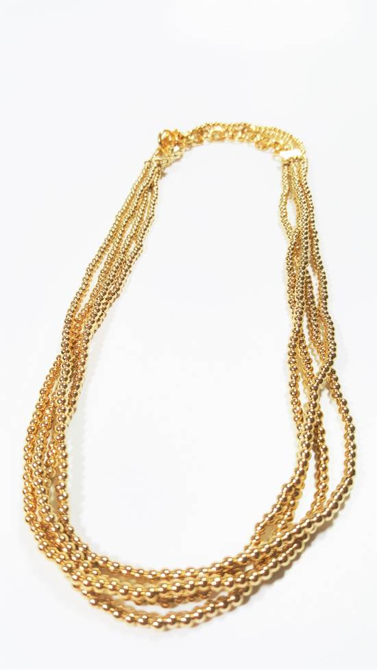 Givenchy Necklace dual strand gold plated Size ONE SIZE - 1