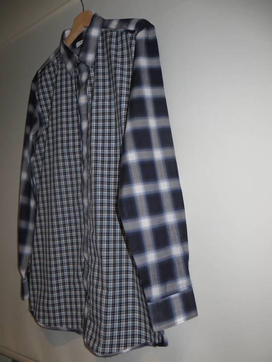 Givenchy Contrast check shirt Size US M / EU 48-50 / 2 - 1