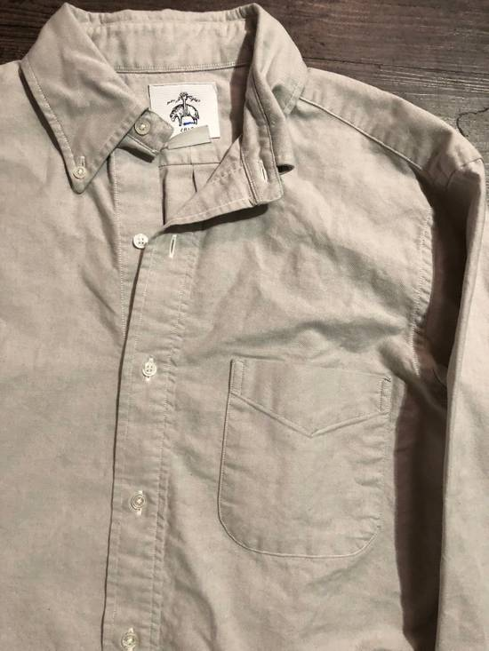 Thom Browne GREY OXFORD BUTTON UP SHIRT Size US M / EU 48-50 / 2 - 1