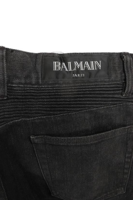 Balmain Balmain Black Washed Denim Jeans Size US 30 / EU 46 - 2