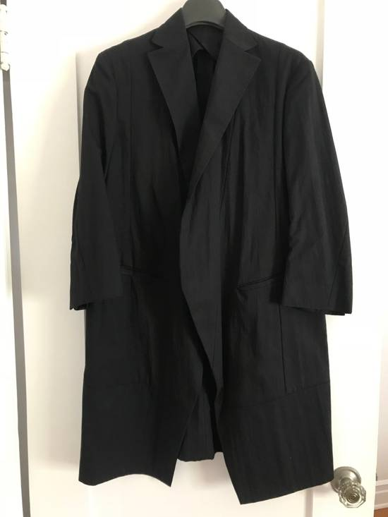 Julius JULIUS BLACK LONG BLAZER W TAGS NEVER BEEN WORN SIZE 1 Size 38R - 1