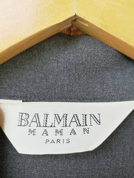 Balmain Buy it Now, Final Drop Before Deleting..Vintage X Balmain Blazer Limited Edition Design not for balenciaga raff simon givenchy prada gucci versace rick owens tom ford acne studios Size 36R - 1
