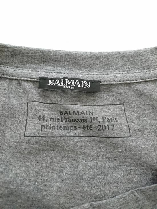 Balmain Balmain dark grey summer 2017 drop Size US XL / EU 56 / 4 - 2