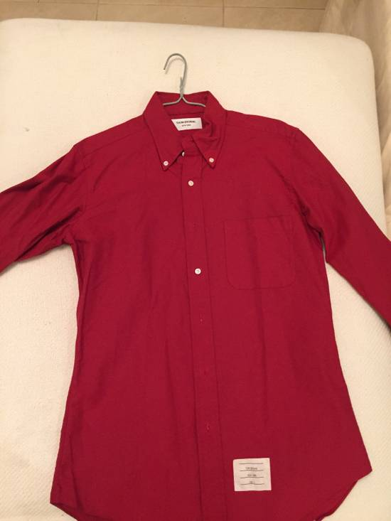 Thom Browne Thom Browne Red Shirt Size US M / EU 48-50 / 2