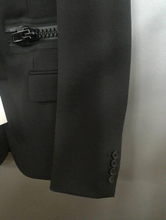 Givenchy 46-48 Zipped Blazer Mohair & Wool Jacket Size US M / EU 48-50 / 2 - 9