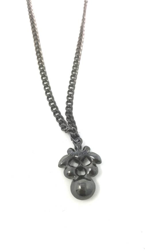 Givenchy Double sided gun metal necklace Size ONE SIZE - 11