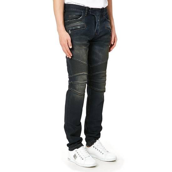 Balmain PRICED TO SELL!! Size 30 Blue Biker Jeans Balmain Size US 30 / EU 46 - 14