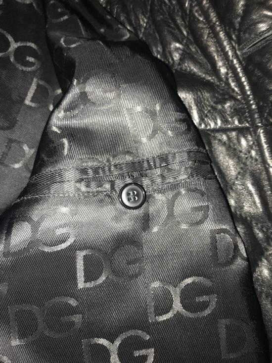 Givenchy Men's Dolce & Gabanna Quilted Leather Bomber Jacket Size 48 Size US M / EU 48-50 / 2 - 8