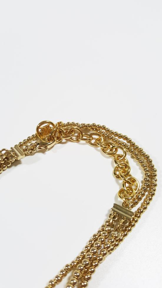 Givenchy Necklace dual strand gold plated Size ONE SIZE - 2