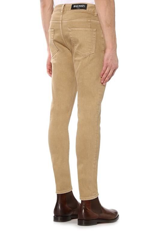 Balmain Camel Jeans Size US 30 / EU 46 - 1