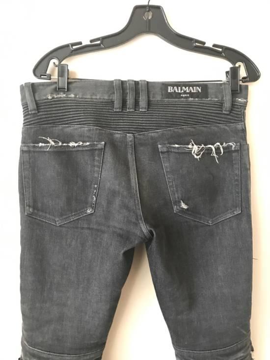 Balmain Biker Jeans Size US 30 / EU 46 - 2