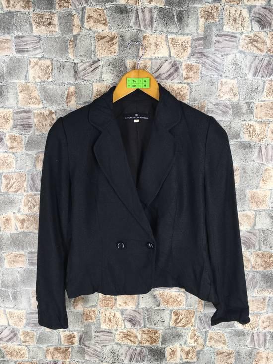 Givenchy GIVENCHY Ladies Coat Jacket Small Black Vintage Designer Givenchy Yohji Comme Des Buttondown Formal Blazer Cropped Women Size S Size US S / EU 44-46 / 1